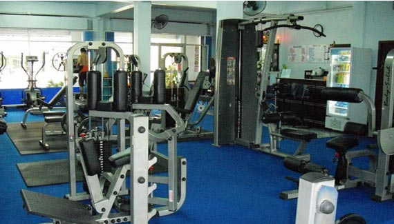 Chalong Gym equipment and weights